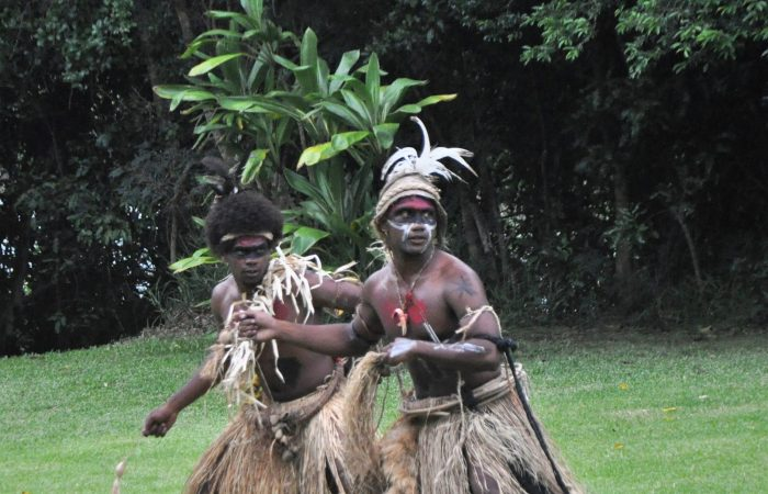 Traditional Pilou dancers